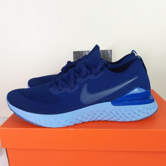 New Nike Epic React Flyknit 2 Blue Void